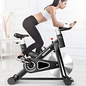 A-SSJ Bicicletas Estáticas y de Spinning Bicicleta de Pedales para Bicicletas de Adelgazamiento Magnetrón Ultra silenciosas: Amazon.es: Deportes y aire libre