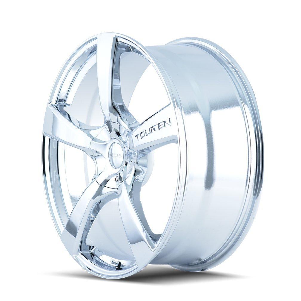 Touren TR9 3190 Chrome Wheel (16x7''/10x120mm) by Touren (Image #2)