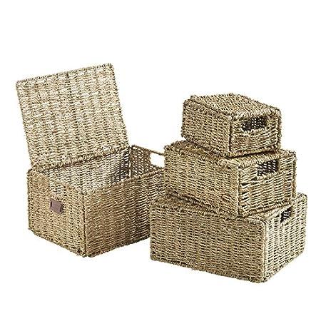 61JoDXVbnwL._SS450_ Wicker Baskets and Rattan Baskets