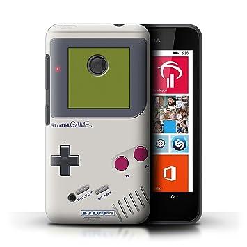 Carcasa/Funda STUFF4 dura para el Nokia Lumia 530 / serie: Consola de juegos - Nintendo game boy