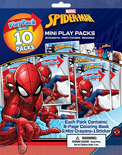 Bendon Spiderman Mini Play Pack