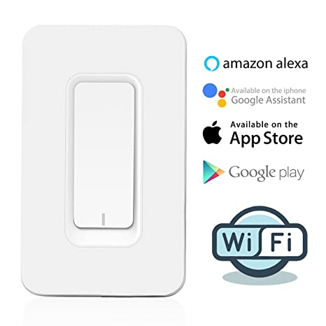 Amazon com: KOBWA Smart WiFi Switch, Remote Control Wireless Switch