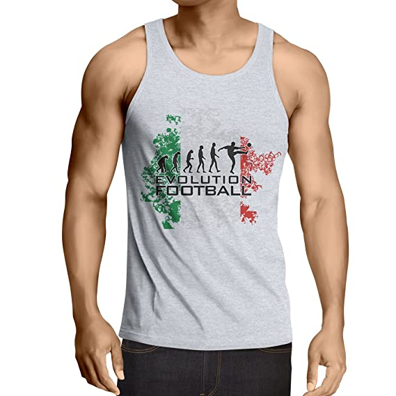 lepni.me Camisetas de Tirantes para Hombre Evolución del ...