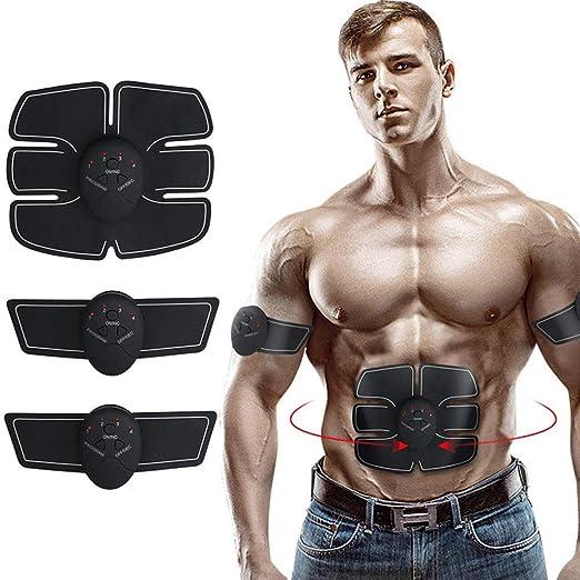 Electric Muscle Toner EMS Machine Toning Belt Wireless 6 Six Pack Abs Fat Burner