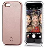 MGX LD-7259 LED Lighted Selfie Phone Case for iPhone 6 Plus/6S Plus - Gold