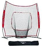 Rukket The Original Sock It! Baseball & Softball 7 x 7 Practice Net with bow frame (LIFETIME WARRANTY & US Based Customer Service)