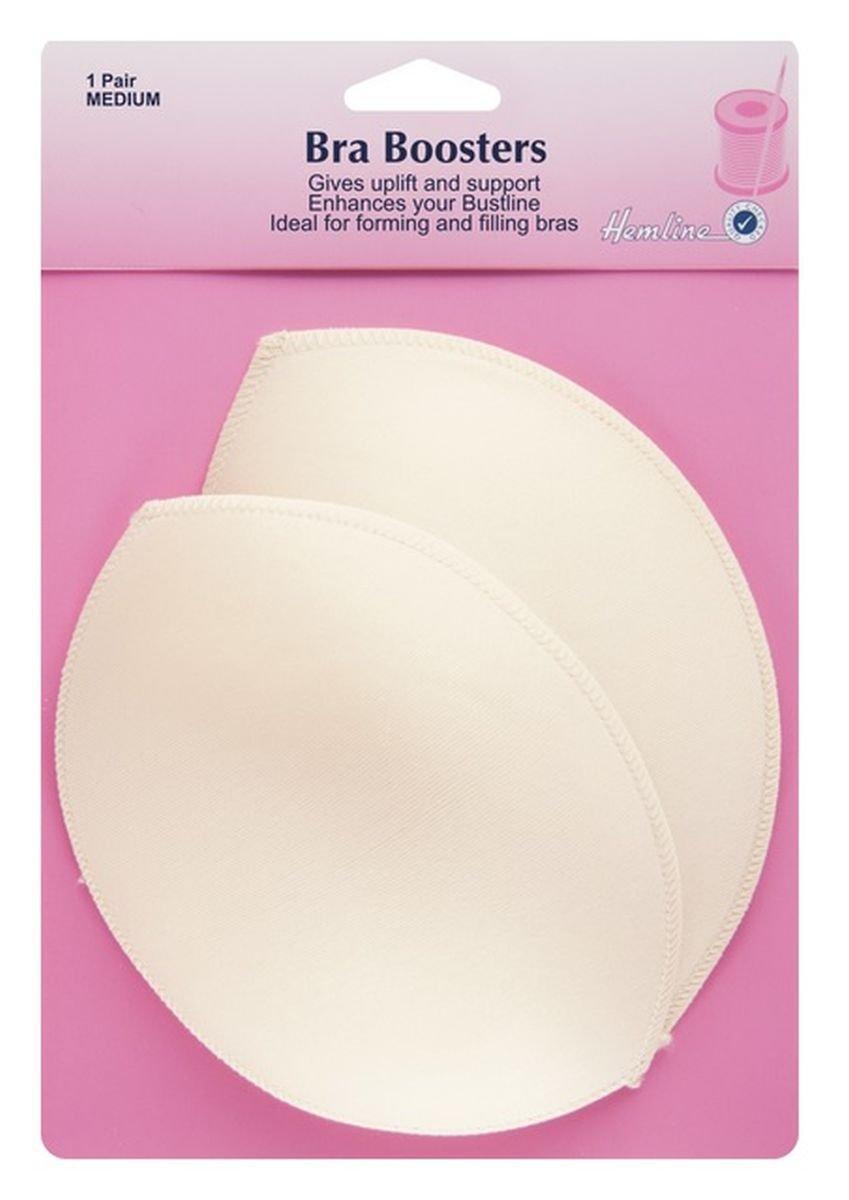 Hemline Bra Boosters 1 Pair Skin Tone In Medium Enhance Bustline