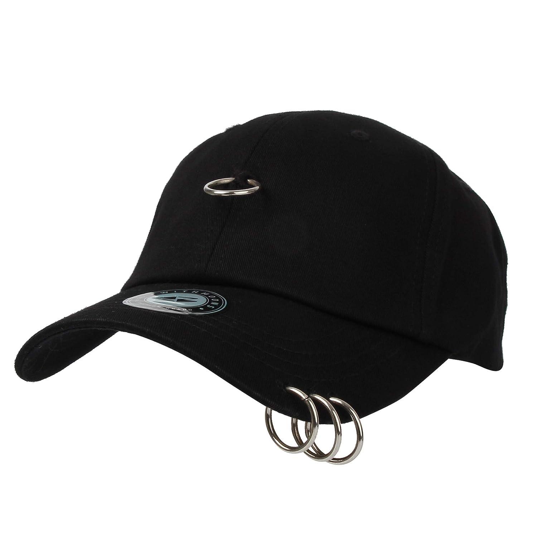 Men Snapback Hats BTS Jimin Fashion K POP Iron Ring Hat Adjustable Baseball Caps