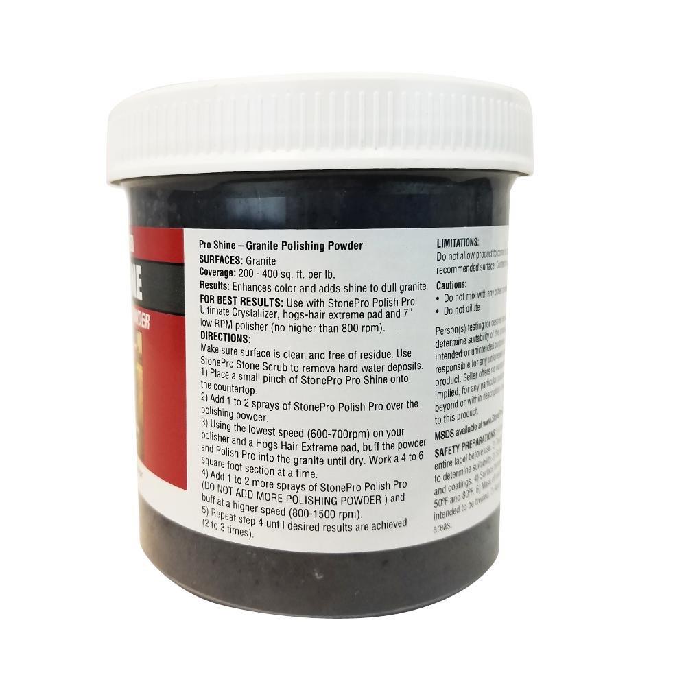 Amazon.com: Stone Pro Pro Shine - Granite Polishing Powder - 1 Pound ...