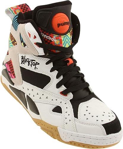 Sneakers Reebok Pump Blacktop Battleground White, Black and