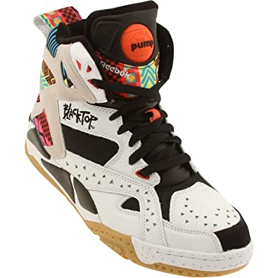 Reebok Blacktop Battleground Pump White Men Can't Jump Sneakers WhiteBlack M43284 (