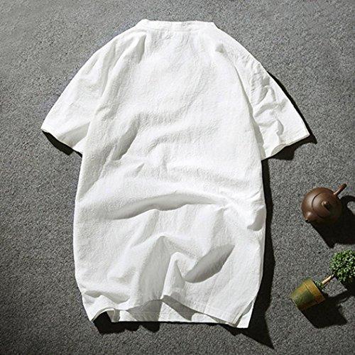 Pullover Bianco Tees Maniche Uomini Tops 2018 T Casual Shirt Estiva Uomo Camicetta Stile Styledresser Da Camicie Top Maglietta Corte OUpRqR