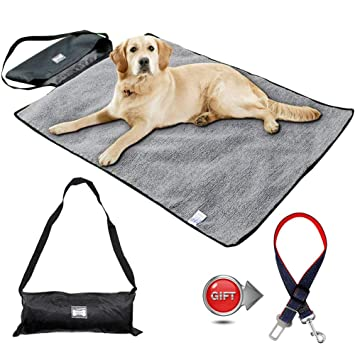 Mascotas Colchoneta con Cinturón de Seguridad de Coche para ...