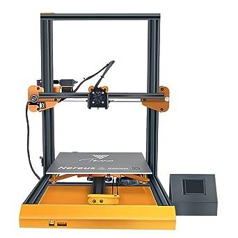 TEVO Nereus 3D Printer, WiFi Preassembled Printing Metal ...