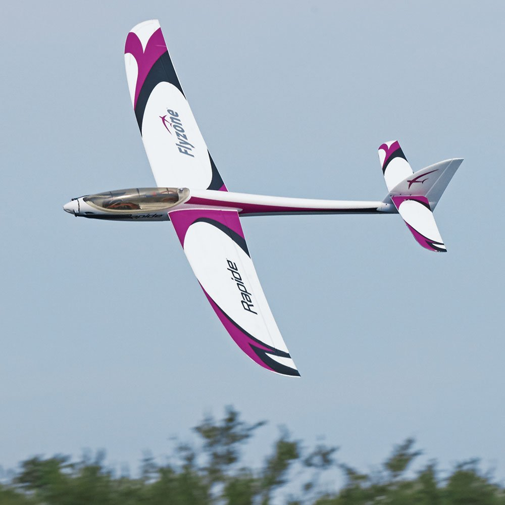 Flyzone Rapide Receiver-Ready Brushless Electric Foam RC Performance Glider with Motor, ESC, Micro Servos and Folding Propeller by Flyzone (Image #2)