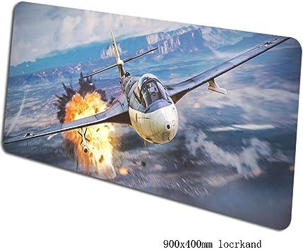 SKTCNB Alfombrilla De Ratón War Thunder 90X40Cm Borde Cerrado ...