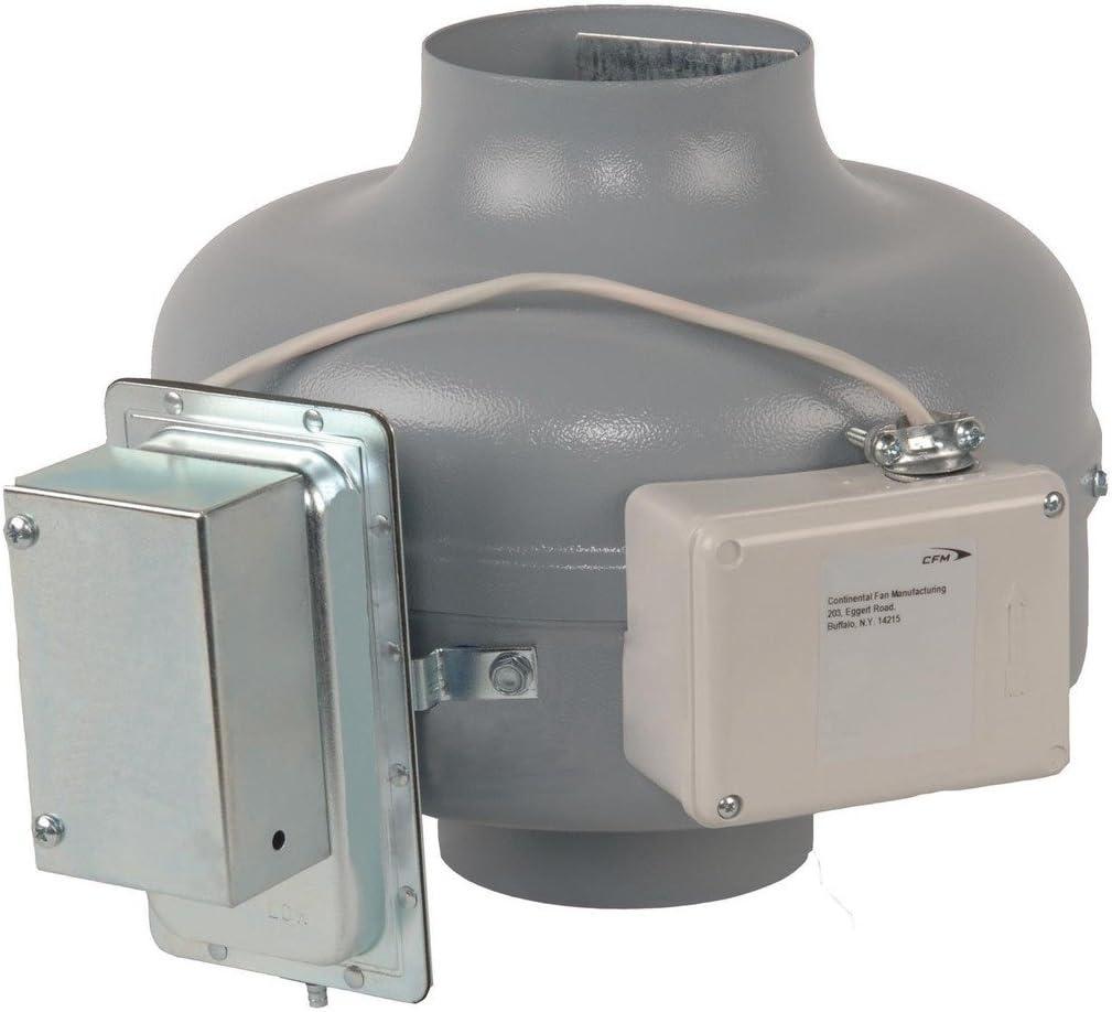 Continental Fan Manufacturing DVK100B-PM 152 CFM In