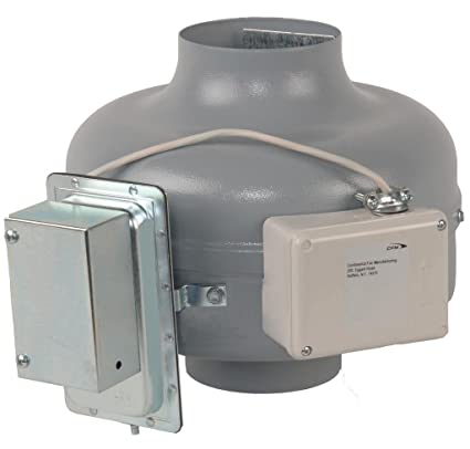 Continental Ventilador fabricación dvk100b-pm 152 CFM secador de in-line amplificador de tubo