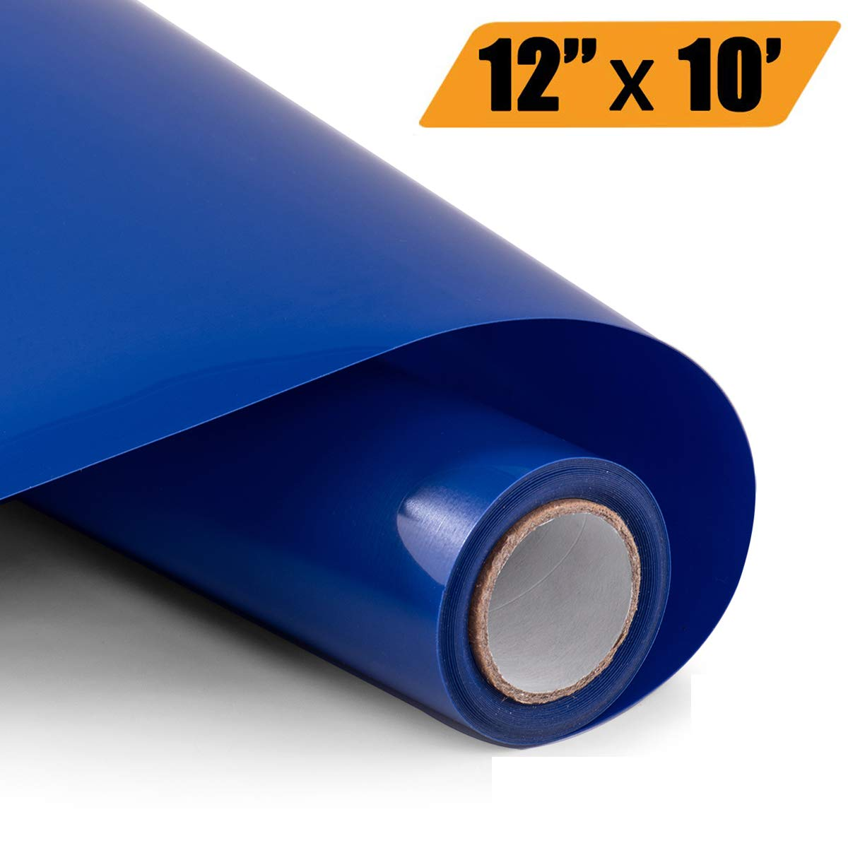 Heat Transfer Vinyl Bundle 12'' x 10' Feet Rolls, PU HTV Vinyl by Somolux for Cricut and Silhouette Cameo Easy to Cut & Weed, DIY Heat Press Design for T-Shirt, Clothes, Hats and Other Textiles (Blue) by HoneyTolly
