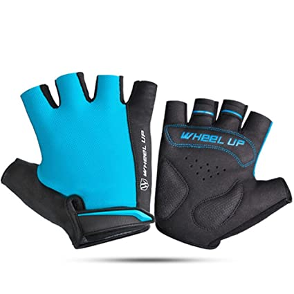 3ed93096d88b Amazon.com   Cycling Gloves Half Finger Motorbike Motorcycle Gloves ...