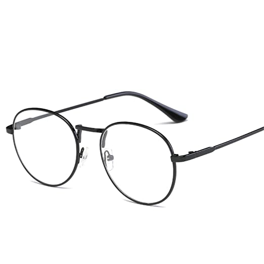 Amazon.com: Vintage Round Glasses frame retro Female Brand ...