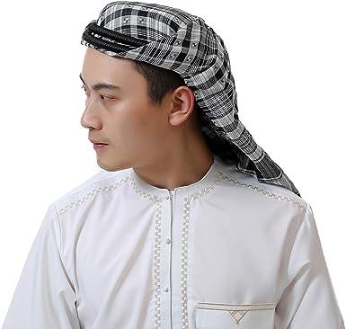 Homme Islamico Arabo Ramadan Pregare Caps zhbotaolang Uomini Hijab Musulmano Capo Impacchi