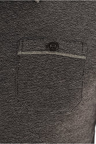 Biaggio Jeans Herren Poloshirt schwarz schwarz