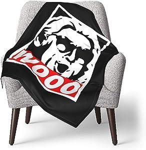 Amerltees Wooo T-Shirt Nature Boy RIC Flair Baby Blanket Ultra-Soft Micro Fleece Blanket Gifts 30 X 40