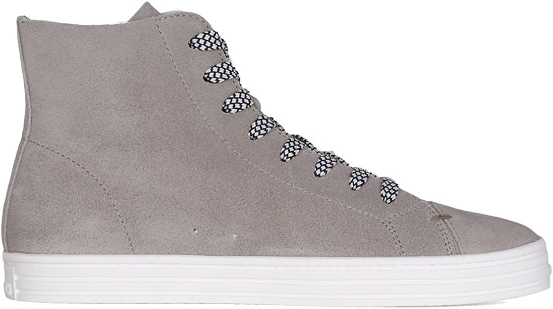 Hogan Rebel Hi Top Sneakers Uomo Hxm1410q402ffy0e71 Pelle Beige Amazon It Scarpe E Borse