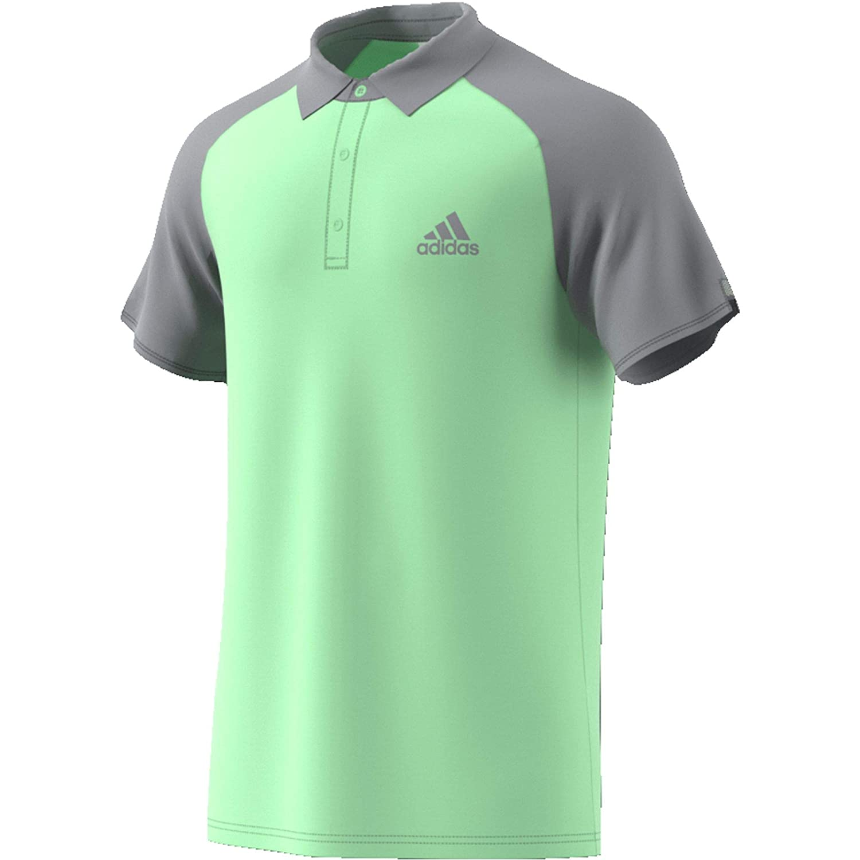 adidas Club C/B Polo, Hombre, verbri/Gritre, M: Amazon.es ...
