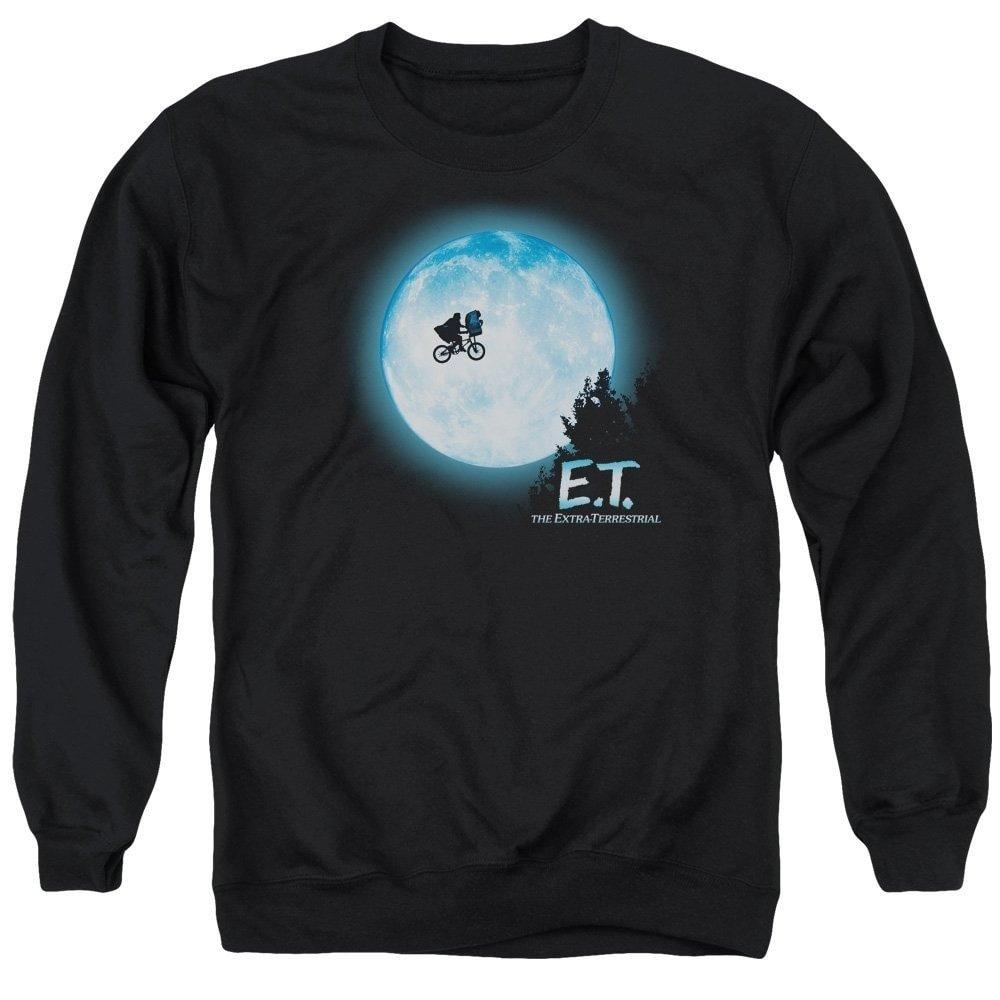 E.T Moon Scene Adult Crewneck Sweatshirt