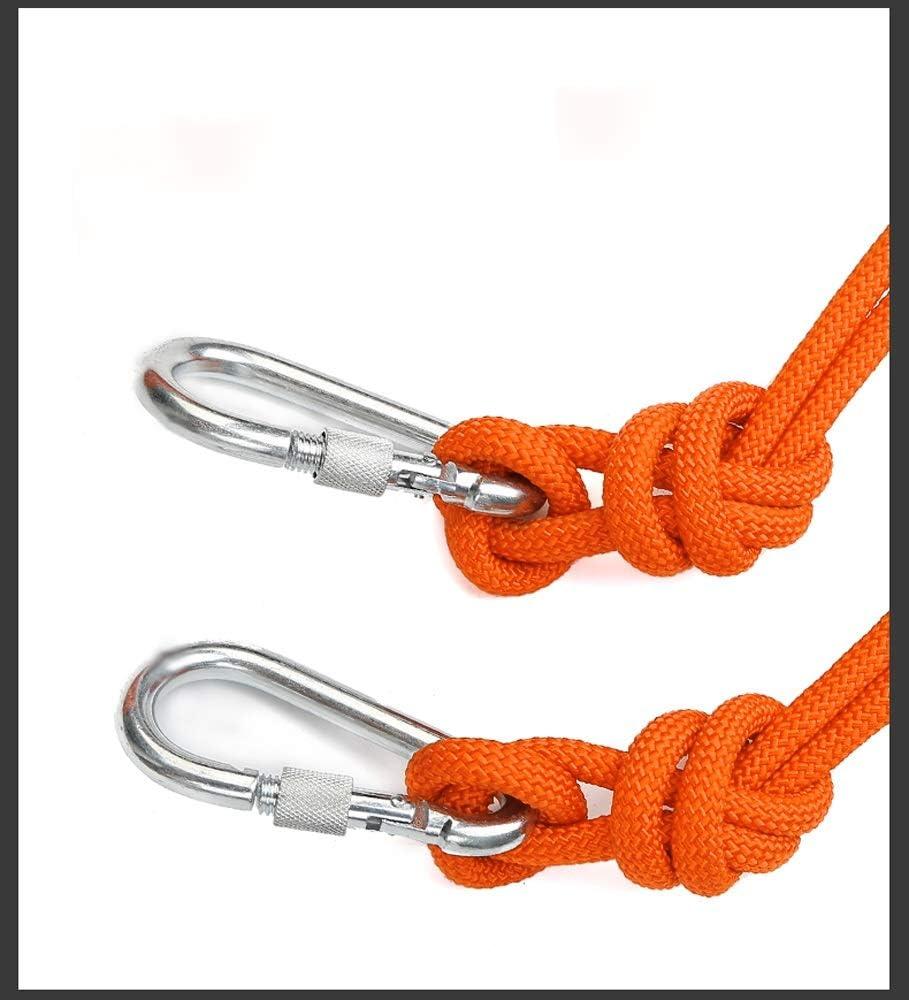 Cuerda de escalada deportiva al aire libre, sin luz enredada ...