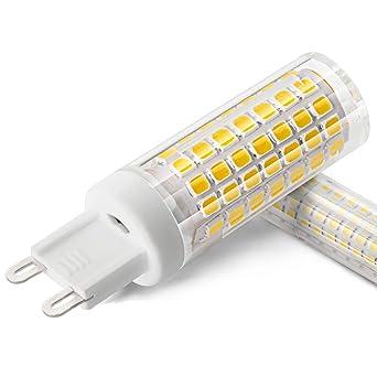 XIX Bombilla LED G9 de 6W No regulable 690 lúmenes 90-265V CA ángulo de