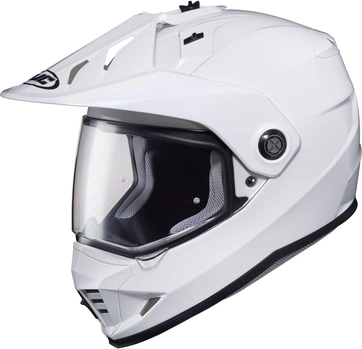 Medium Black HJC DS-X1 Dual-Sport Helmet