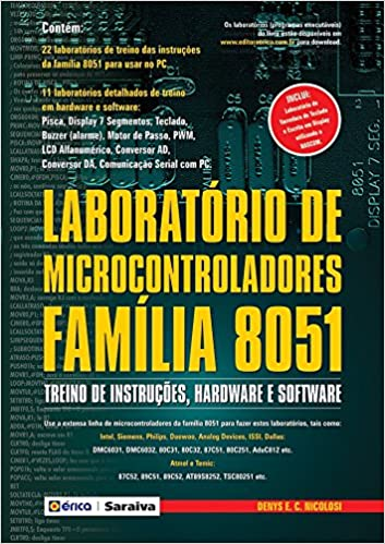 Laboratório de Microcontroladores: Denys E. C. Nicolosi: 9788571948716: Amazon.com: Books
