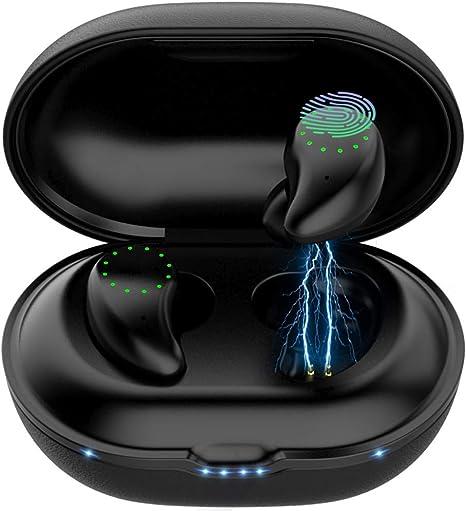 【Neuestes Modell】Bluetooth Kopfhörer Earbuds mit 150H Spielzeit  IPX8 Wasserdich