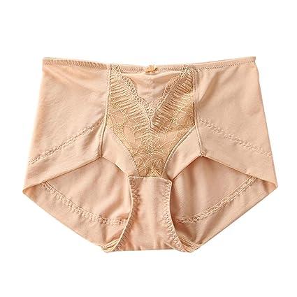DSISI-underwear Pantalones Cómodos Encaje Transpirable Ropa Interior para  Mujeres (Color   Skin 5f2065119aac