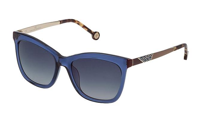 Carolina Herrera SHE746530955 Gafas de Sol, Azul, 53 para ...