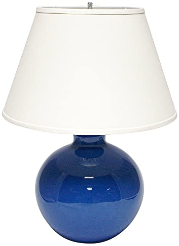 Haeger Potteries Blue Large Bristol Ceramic Table Lamp Amazon Com