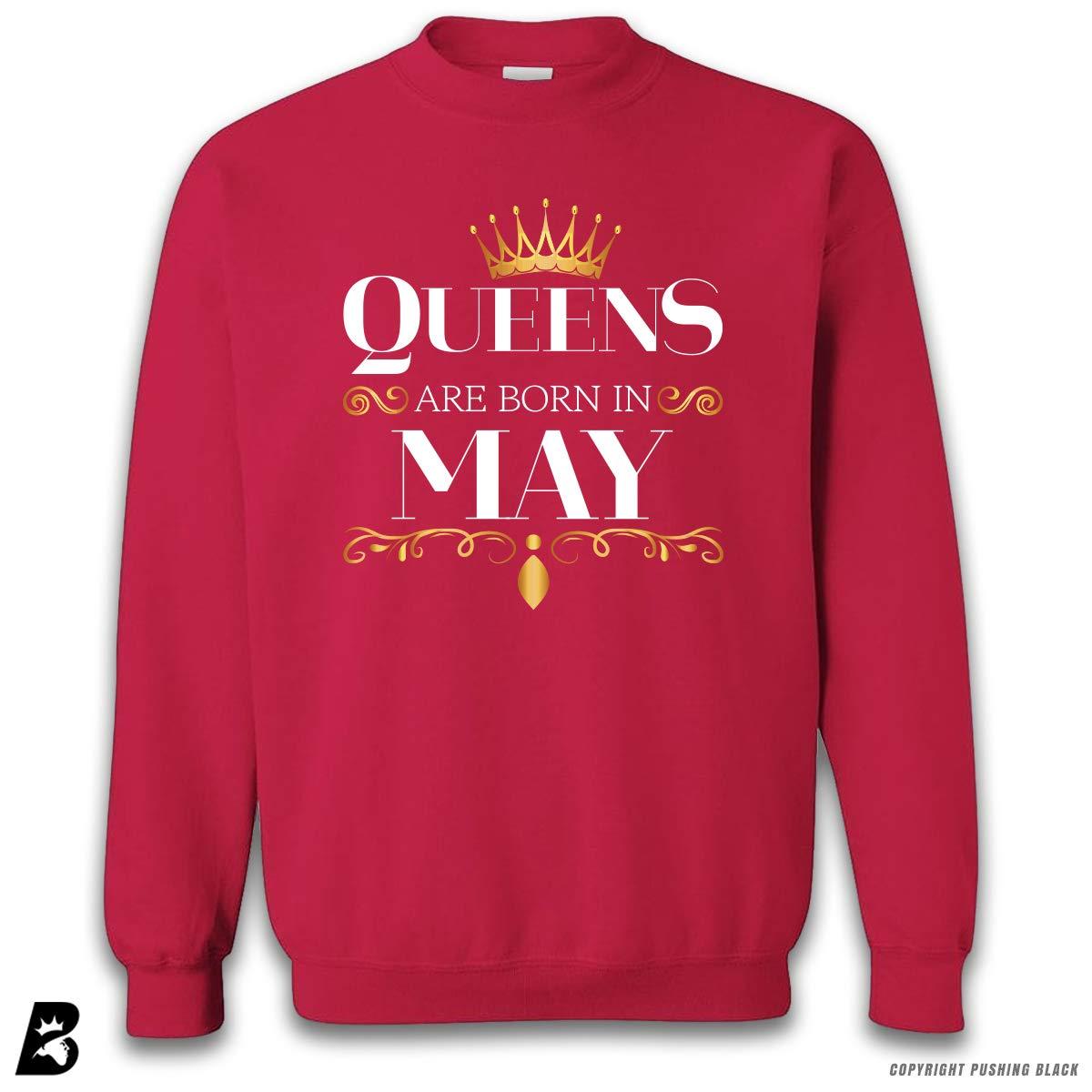 Queens are Born in May Premium Unisex Sweatshirt