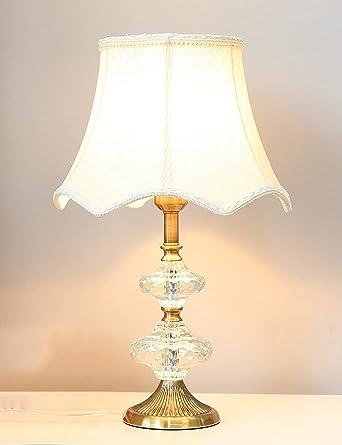 Lámpara de mesa Retro minimalista lámpara Lámpara de cristal ...