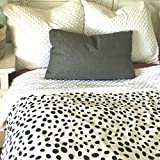 ReachTherapy Solutions Weighted Blankets for Kids - Includes Duvet Cover & Insert - Made in USA (7 lbs & H 65'' x W 45'' - Snow Leopard)