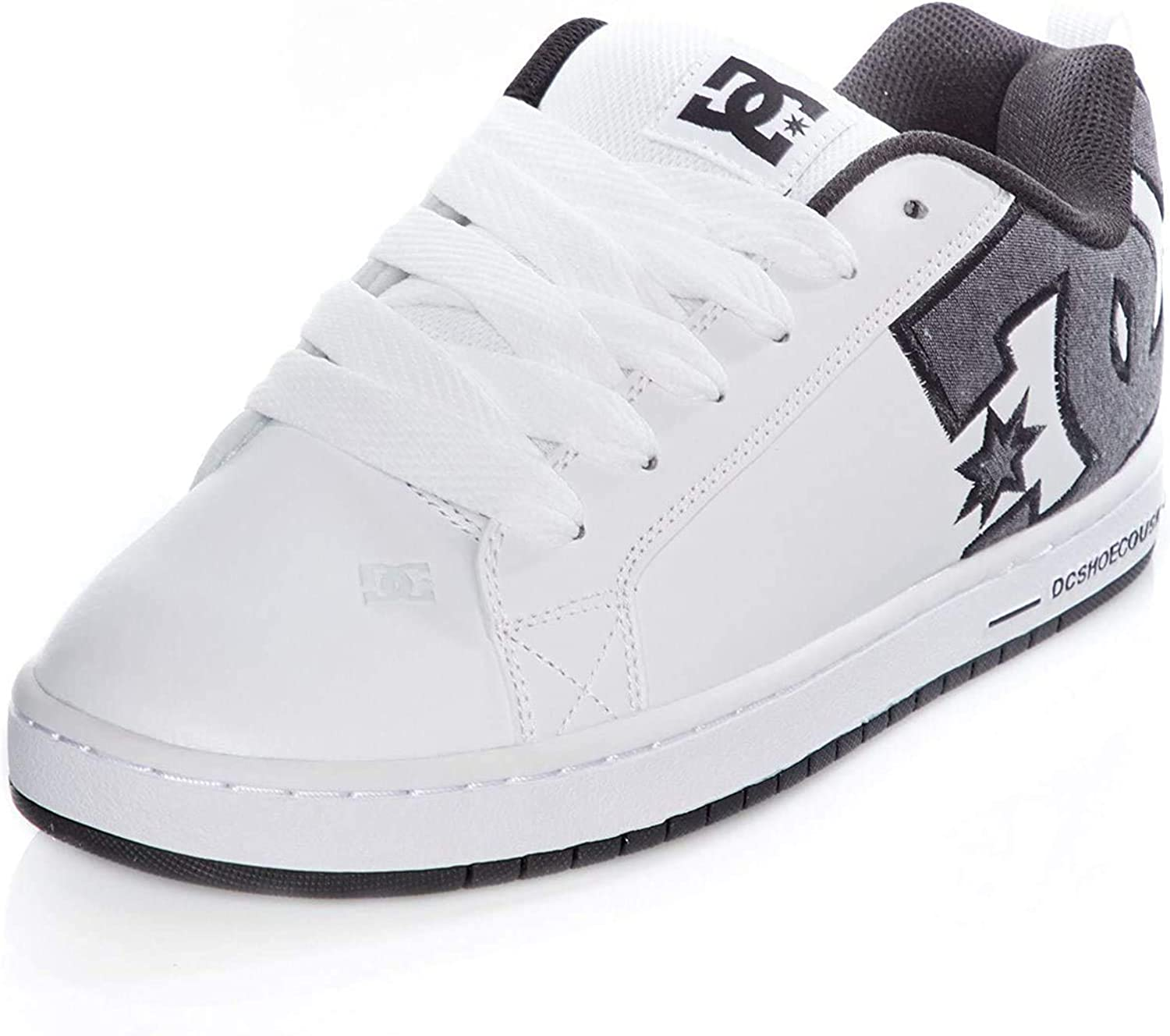 DC Court Graffik SBg9 Herren Sneakers White Battleship