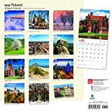 Poland 2018 12 x 12 Inch Monthly Square Wall Calendar, Scenic Travel Europe Warsaw Polish EU (Multilingual Edition)