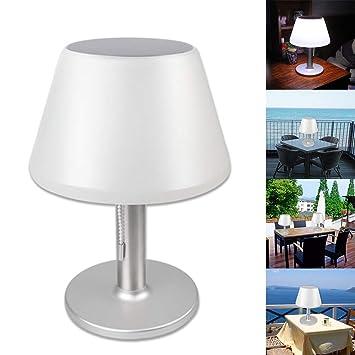Lámpara de mesa LED, 10 Lámpara de mesa de protección solar ...