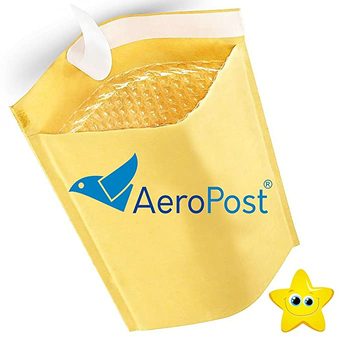 100 165 x 100mm A000 Size 1 Bubble Envelopes Mailer Padded Bags Cheapest
