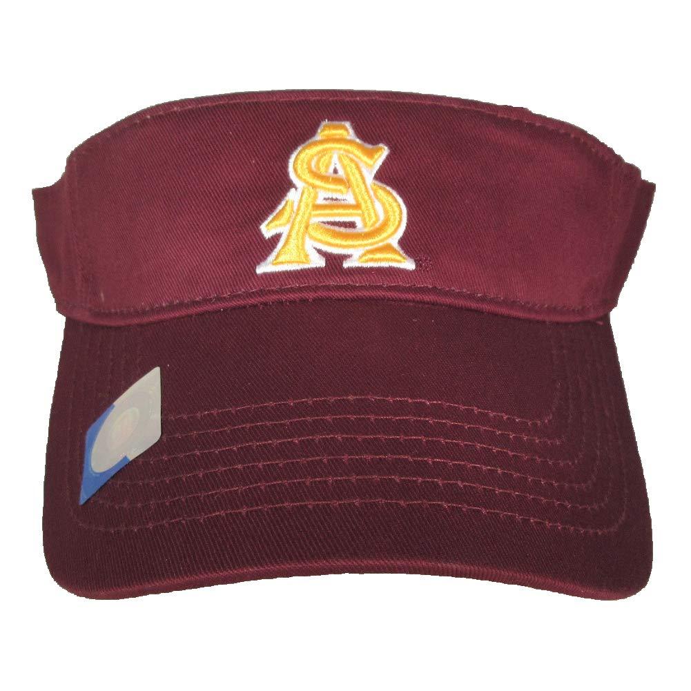 Arizona State Sun Devils Adult Team Logo Visor Maroon
