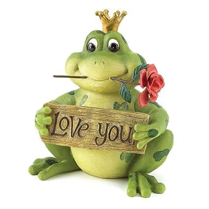 Gifts U0026 Decor Love You Frog Prince Valentineu0027s Day Gift Décor Figurine