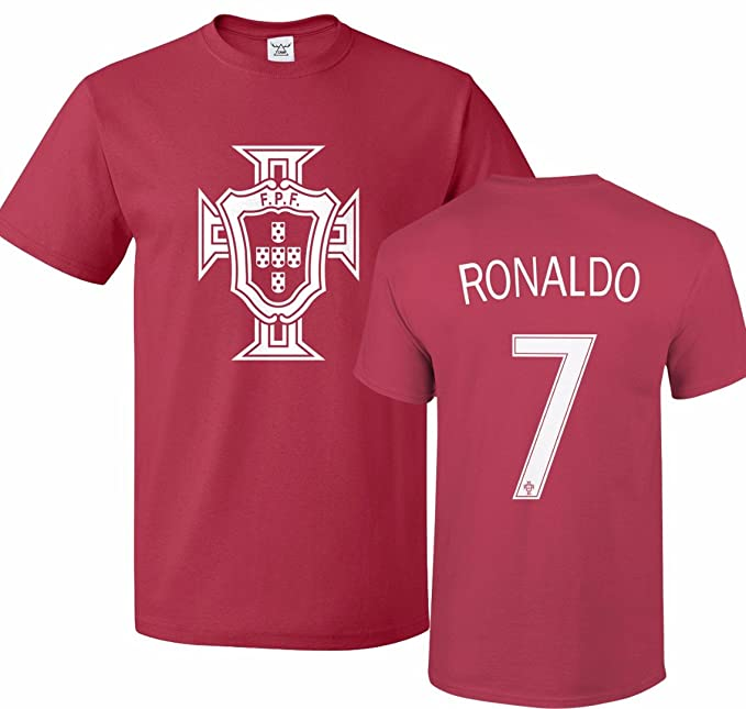 buy popular bcff8 ddd99 Tcamp Portugal Soccer Shirt Cristiano Ronaldo #7 Jersey Men T-Shirt