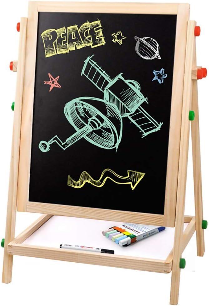 Kleinkind-Staffelei f/ür Kinder mit magnetischem Staffelei f/ür Kinder verstellbar faltbar ++ Tafel doppelseitig zum Aufstellen von Vorschulen Holztafel Whiteboard